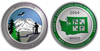 Washington Geocoin